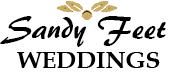 Sandy Feet Weddings Logo